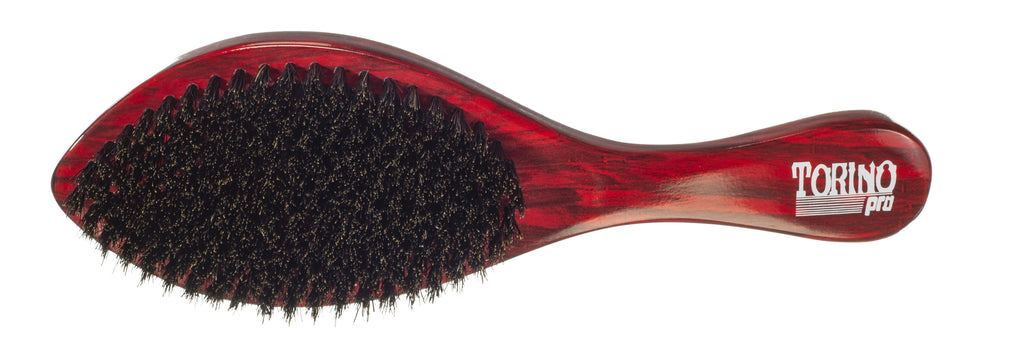 Torino Pro Wave Brushes By Brush King #11- Medium Soft Curve Wave brush- Great for fresh cuts - For 360 waves