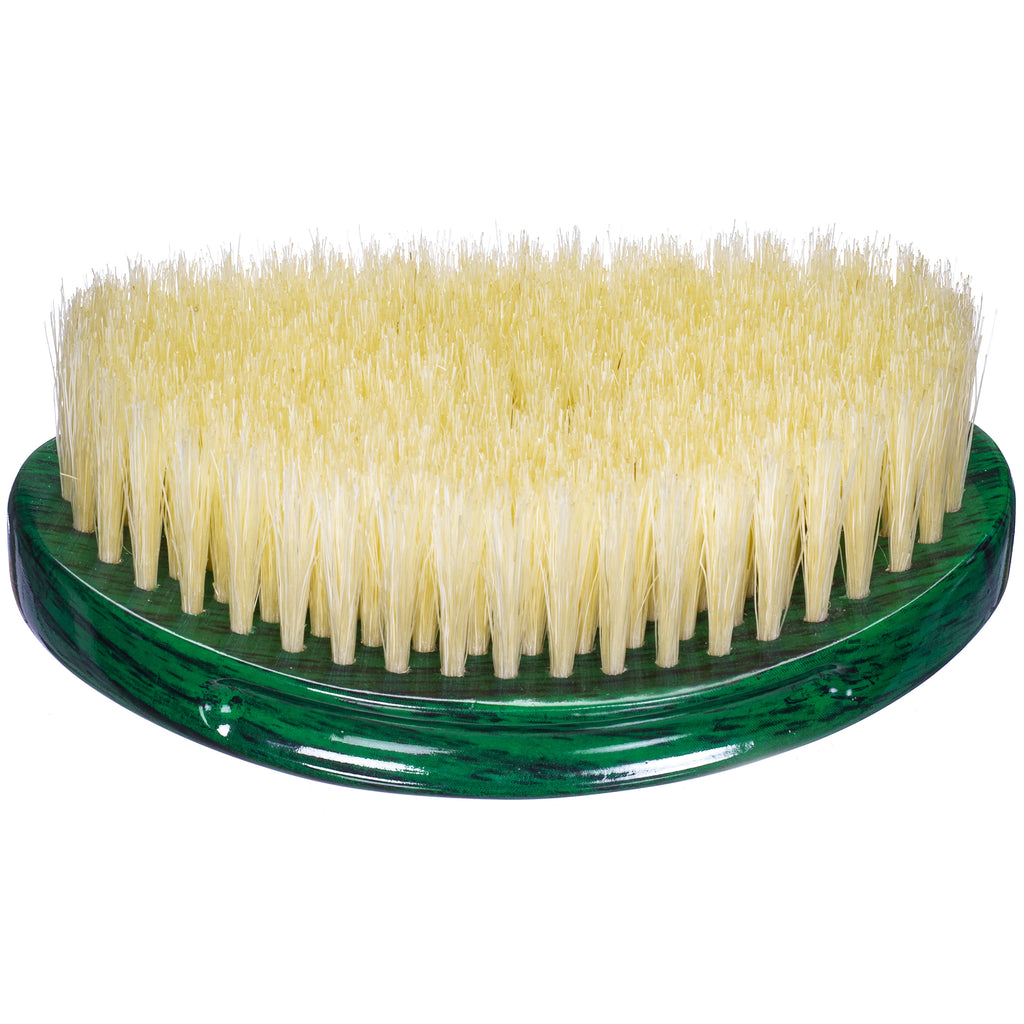 Torino Pro Wave Brushes By Brush King #17- Soft Curve palm brush - Extra long bristles - Great for polishing and laying down your 360 waves