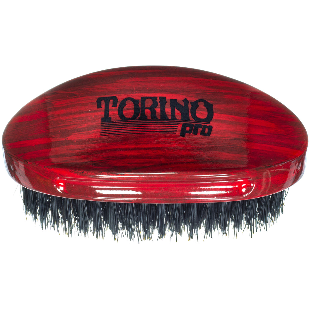 Torino Pro Wave Brushes By Brush King #20- Medium Curve Palm with Extra long bristles - For 360 waves