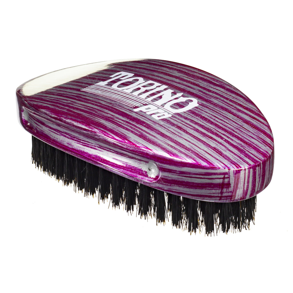 Torino Pro Wave Brushes By Brush King #22- Reinforced Medium Hard Curve Palm - Great for wolfing - For 360 waves