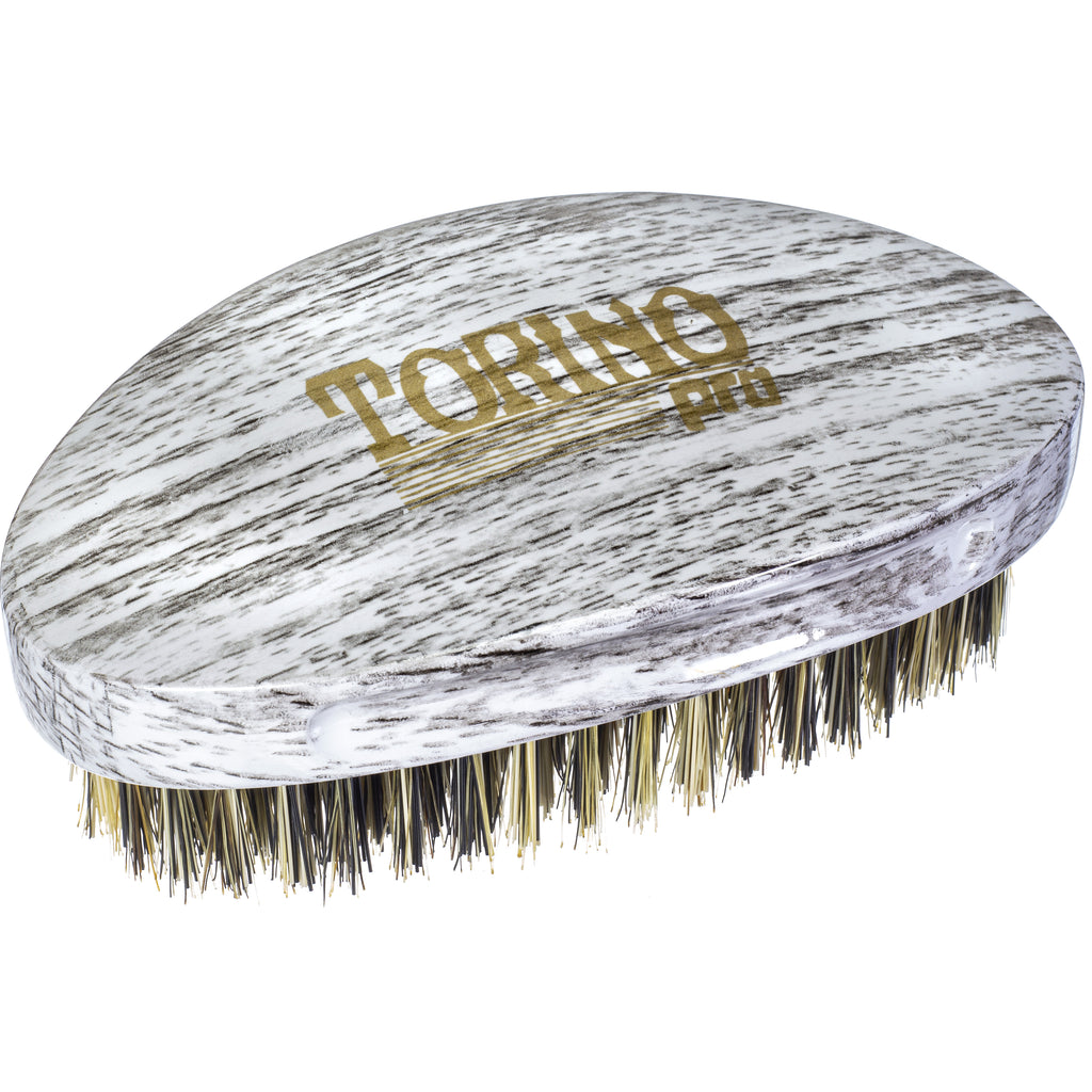 Torino Pro Wave Brushes By Brush King #23- Medium Hard Curve Palm Brush - Great for wolfing- For 360 waves