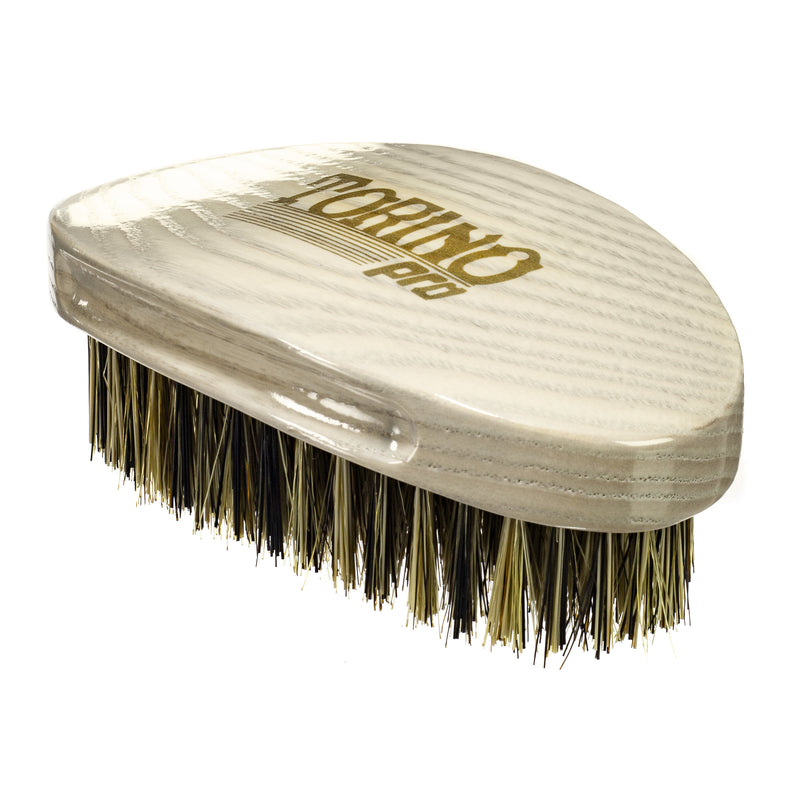 Torino Pro Wave Brushes By Brush King #25- Medium Curve Palm brush- For 360 Waves