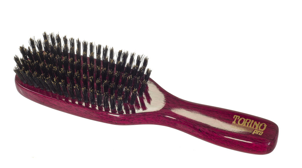 Torino Pro Wave Brushes By Brush King #34-5 Row Spacer Medium Brush - For 360 waves -