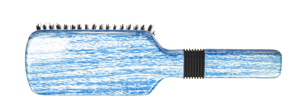 Torino Pro Wave Brushes By Brush King #37- - Rubber grip Hard Vertical Brush - 9 row - 360 wave brushes- Great for wolfing