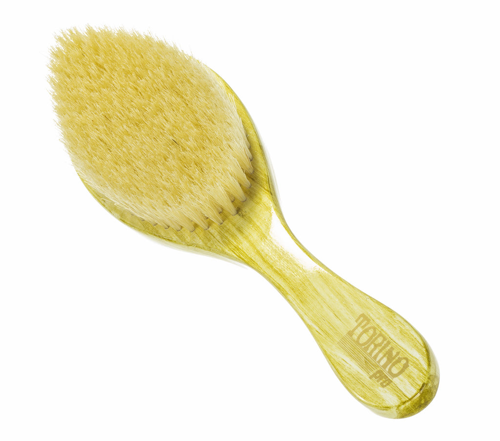 Torino Pro Wave Brushes By Brush King #3 Soft brush- Great for laying down your waves and polishing