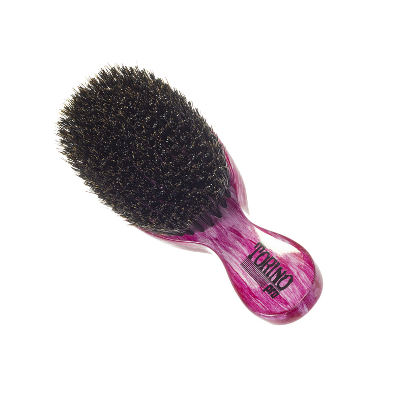 Torino Pro Wave Brushes By Brush King #41- Medium hard Stub Club Brush with Extra long bristles - Great for wolfing - For 360 Waves