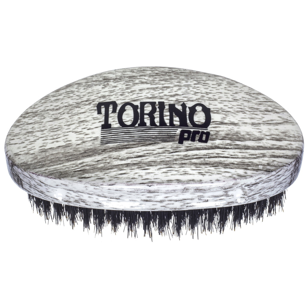 Torino Pro Wave Brushes By Brush King #42- Medium Curve Palm brush- For 360 Waves