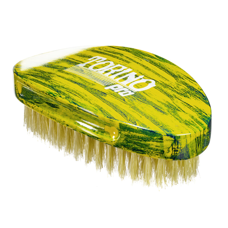 Torino Pro Wave Brushes By Brush King #49 - Medium Palm Curve Brush- Great for laying and polishing your 360 waves