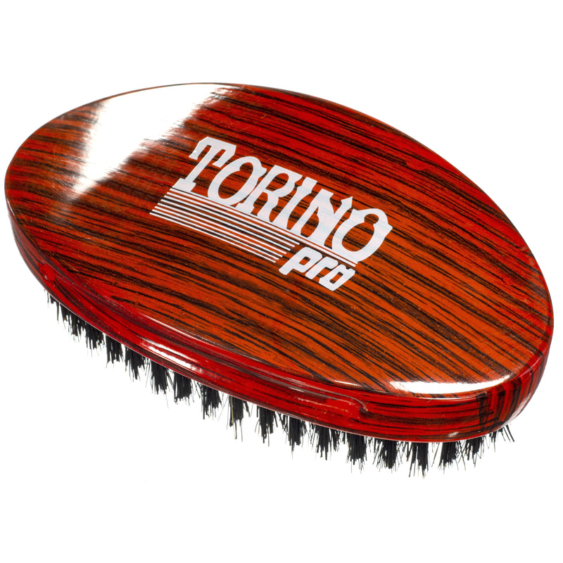 #700 Torino Pro  - Curved Palm, Medium Hard Wave Brush for 360 Waves (Curve Brush)