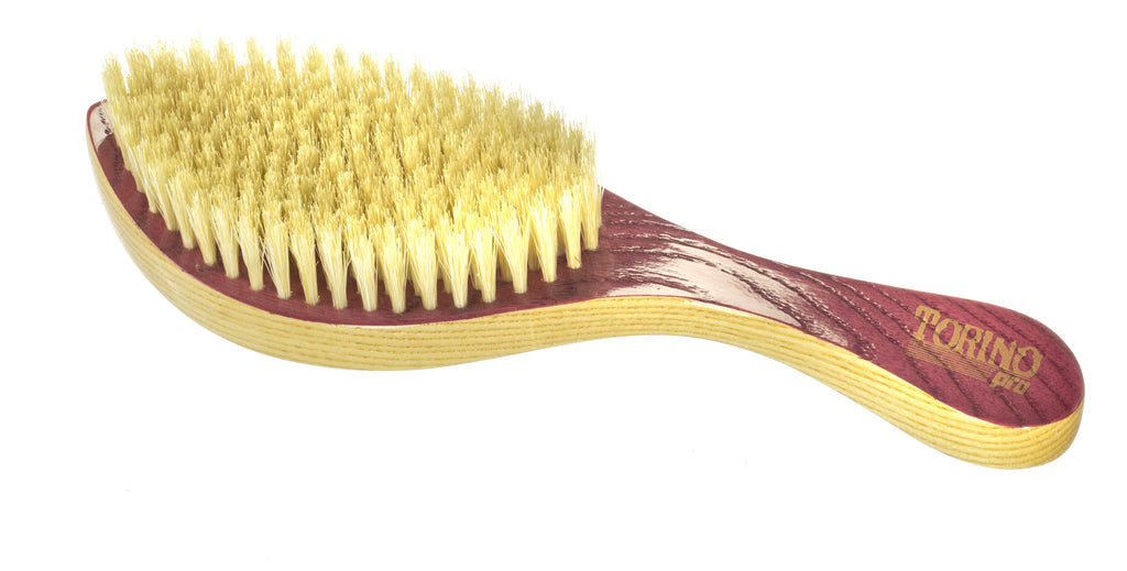 Torino Pro Wave Brushes By Brush King #7- Medium Curve Brush - Patented Design - Great for 360 waves