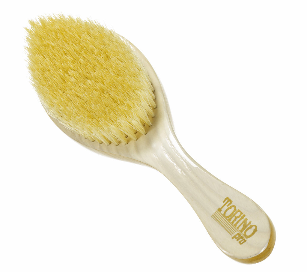 Torino Pro Wave Brushes By Brush King #8- Medium Curve Brush- Patented Design- For 360 waves