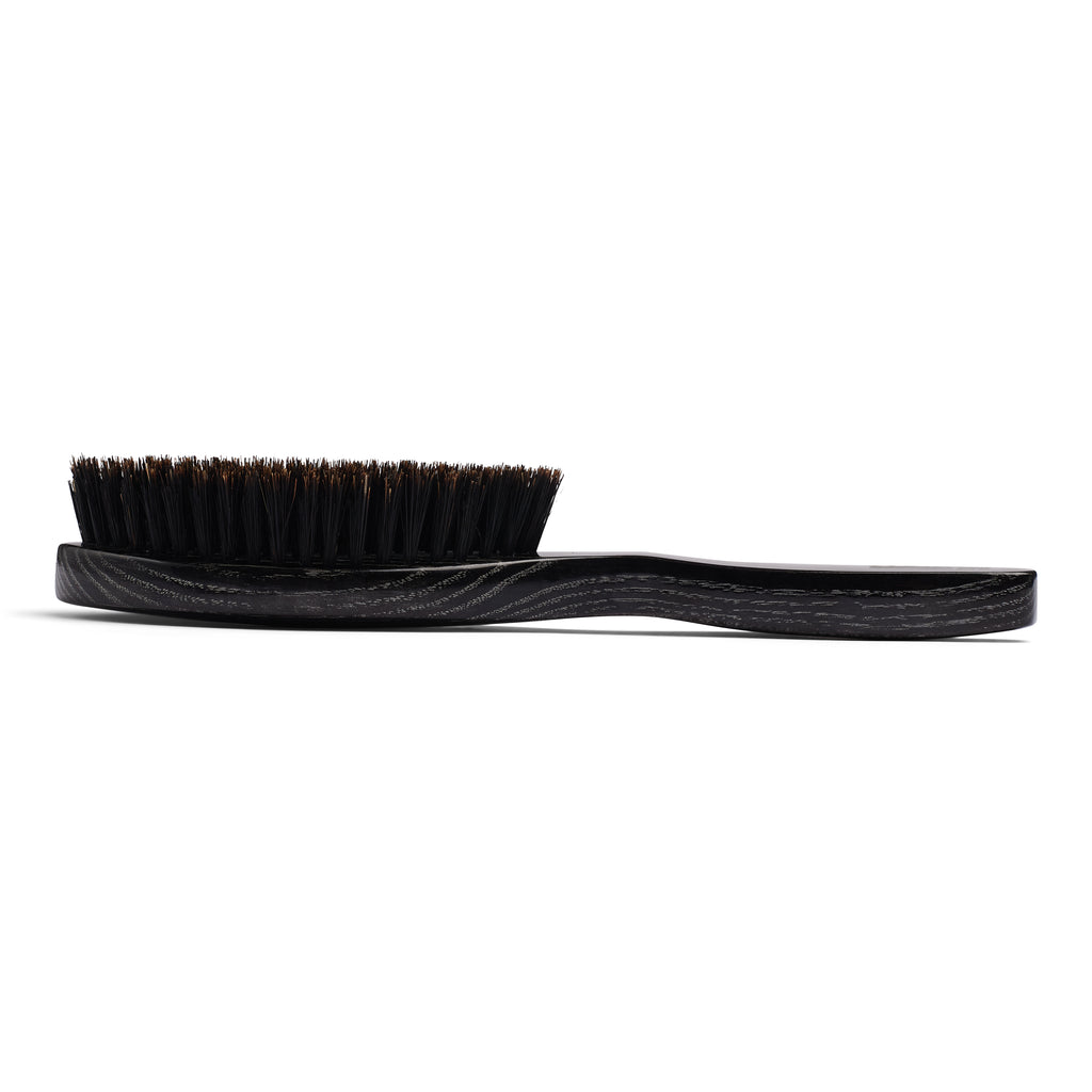 Torino Pro Wave Brushes By Brush King #83-9 row Medium Oval long handle- Great for 360 waves