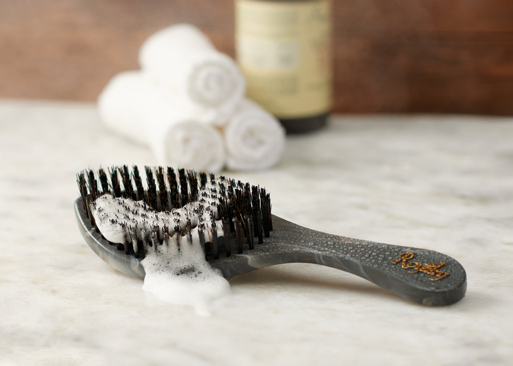 Royalty Hard SHOWER Wave Brush #BK3 for Wash N' Style - Wave Brush for 360 Waves