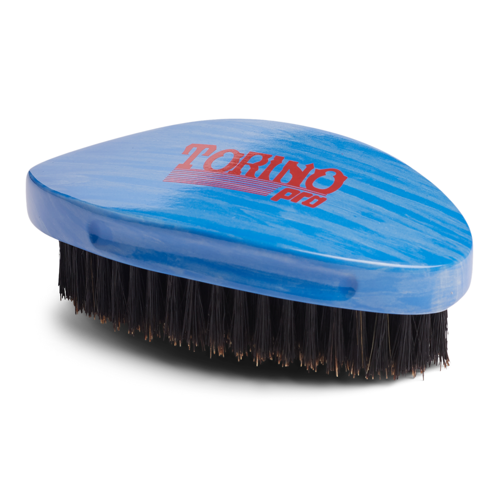 Torino Pro Wave Brushes by Brush king #71- Medium Pointy Curved Palm 360 Waves Brush