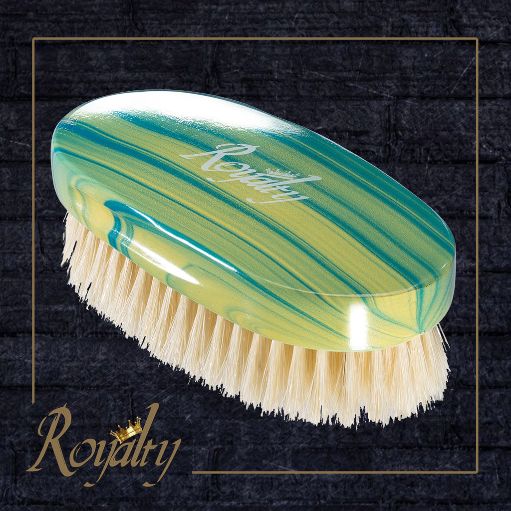 Royalty #RP1 MEDIUM PALM Wave brush for 360 waves , Amazing Wave brushes