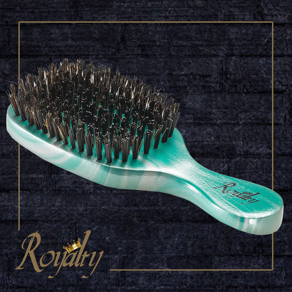 Royalty #RBC3 Hard Wave Club brush for 360 waves , Amazing Wave brushes