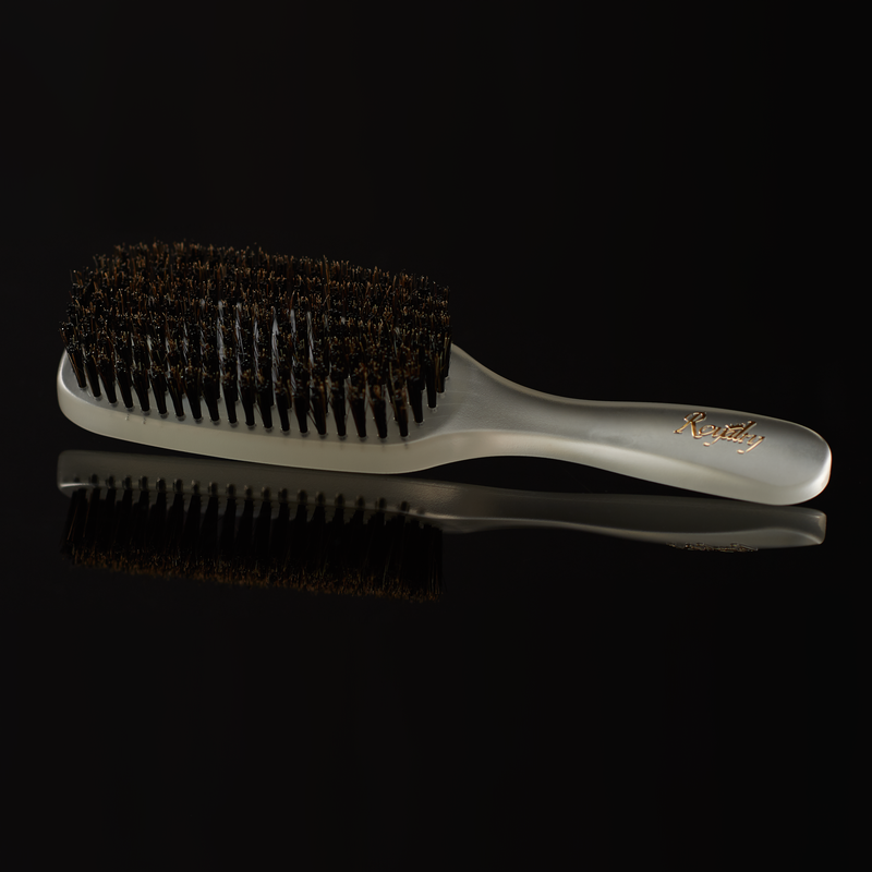 Royalty Medium Hard SHOWER Wave Brush #733 for Wash N' Style - Wave Brush for 360 Waves