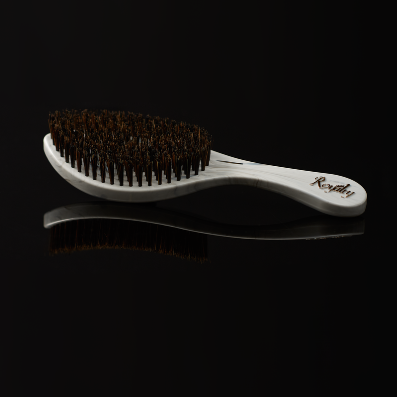 Royalty Medium Hard SHOWER Wave Brush #BK5 for Wash N' Style - Wave Brush for 360 Waves