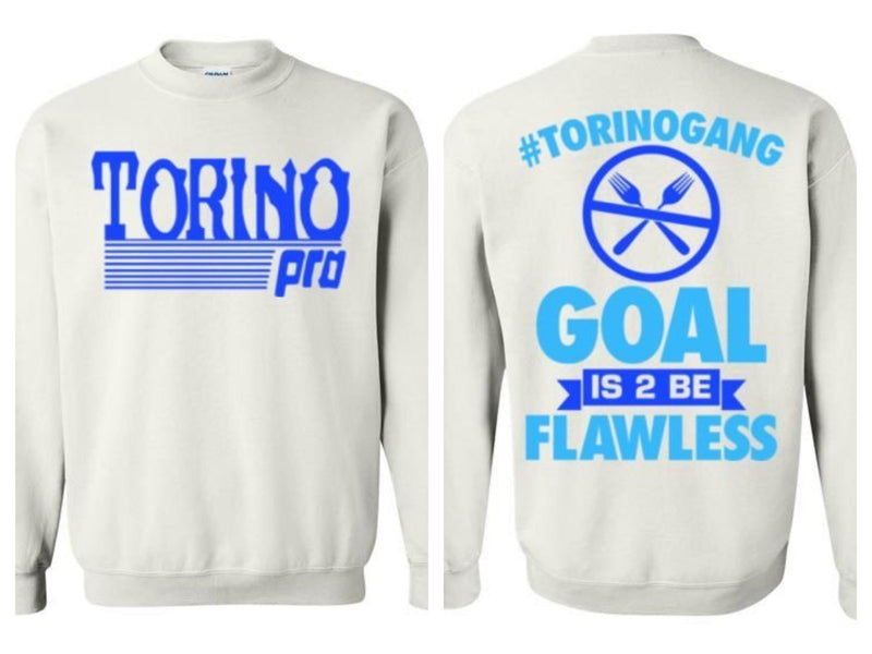 Goal is to be flawless (1) sweatshirt (Multiple Colors)