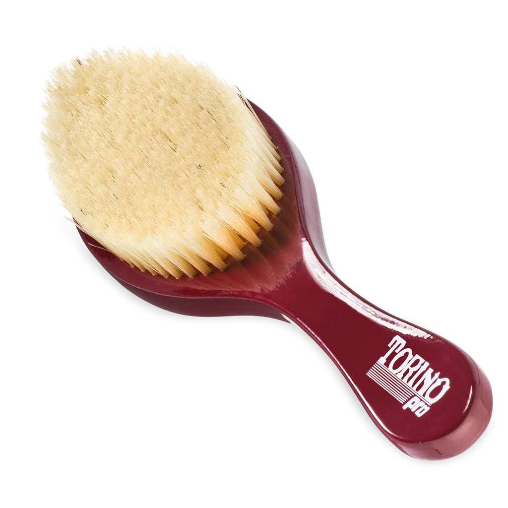 Torino Pro Wave Brush #490 - Medium Wave Brush for 360 Waves (Curve Brush)