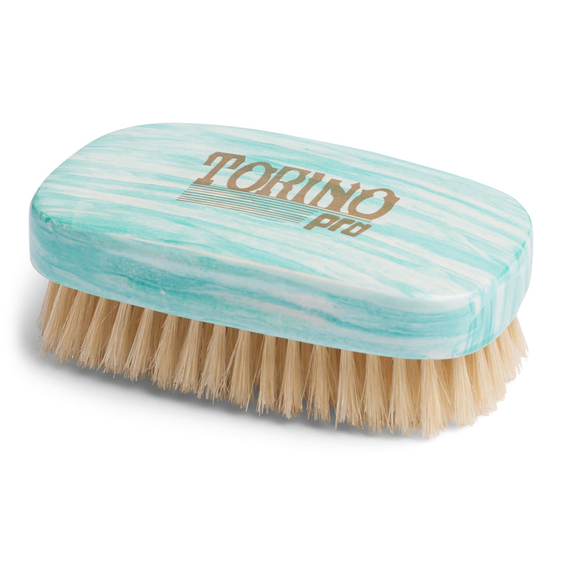 Torino Pro Wave Brushes By Brush King #90-7 row soft- 100% White boar bristles