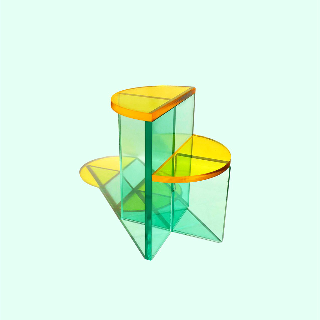 Broken Shapes Side Table