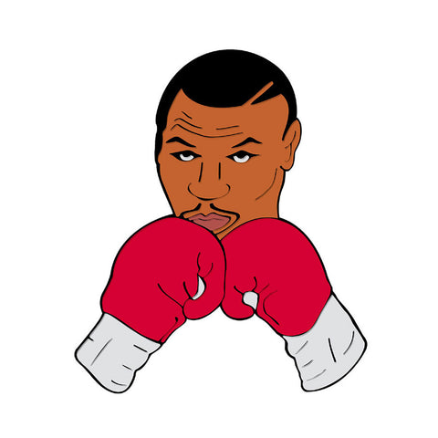 MIKE TYSON Pin