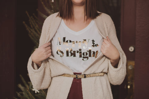 merry and bright holiday look book