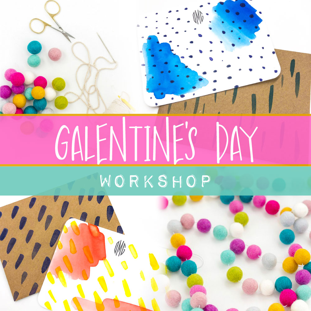 Galentine's Workshop - February 12 - 6 to 8 p.m. - Little Chicago Clothing Co.