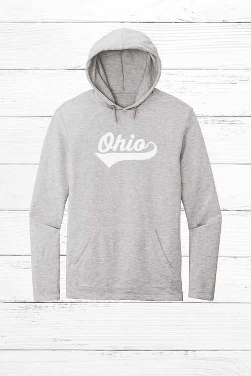 Athletic Script Ohio Lightweight Terry Hoodie