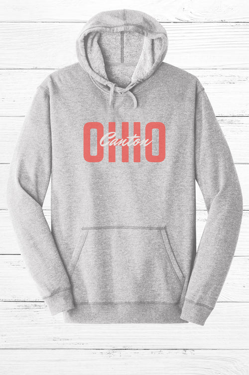 Block Canton Ohio Fleece Hoodie
