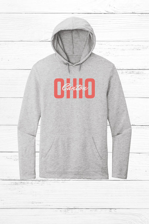 Block Canton Ohio Lightweight Terry Hoodie