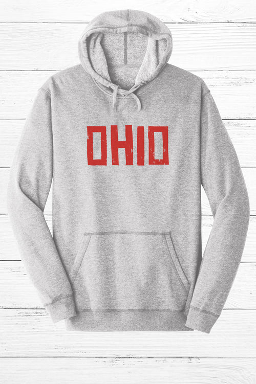 Brick Ohio Fleece Hoodie