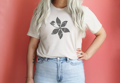 Buckeye Leaf Ohio Tee