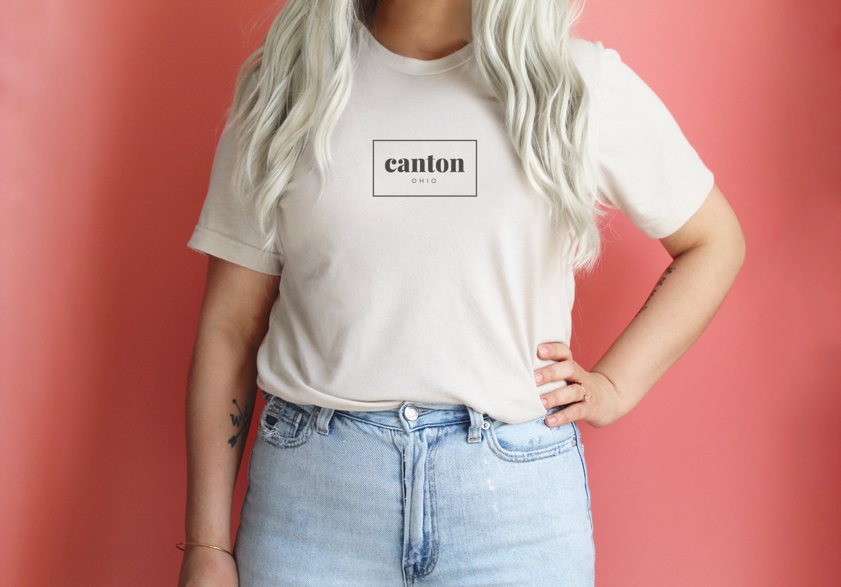 Canton Rectangle Tee