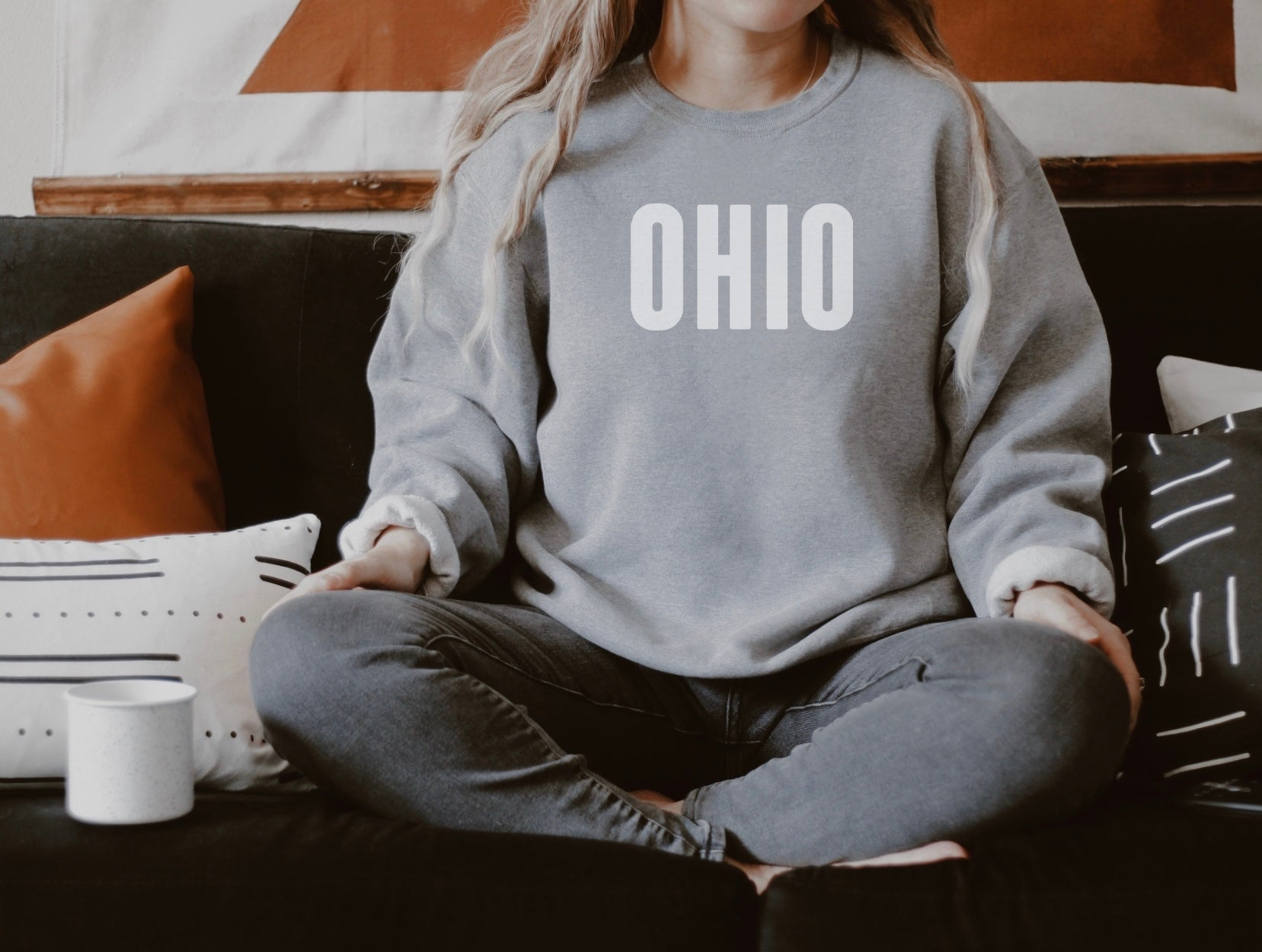 Caps Ohio Fleece Sweatshirt