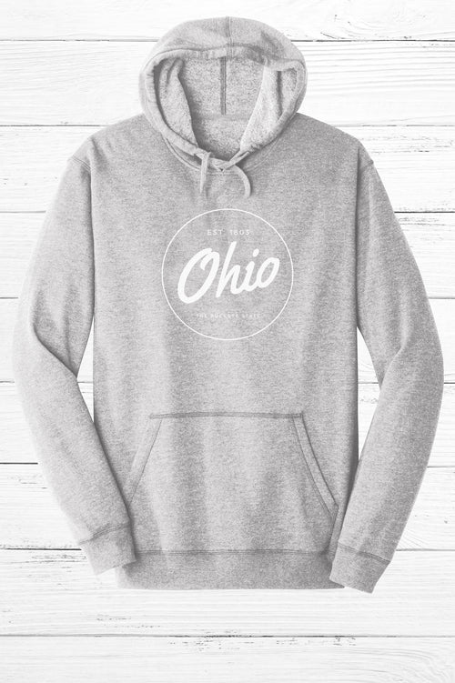 Circle Ohio Fleece Hoodie