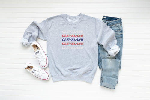 Cleveland Baseball Crew Fleece