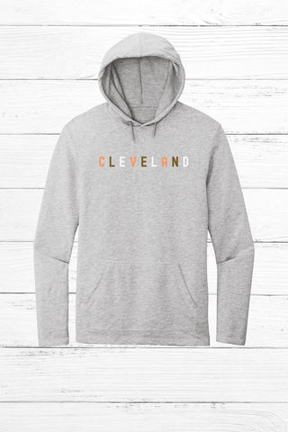 Retro Cleveland Lightweight Fleece Hoodie