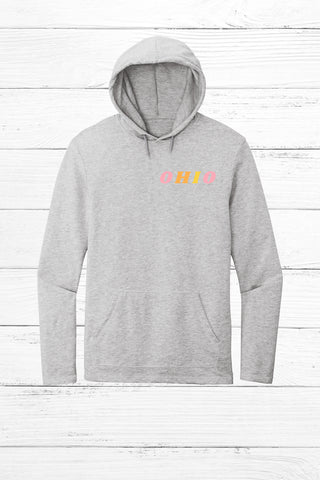 Retro Ohio Lightweight Terry Hoodie