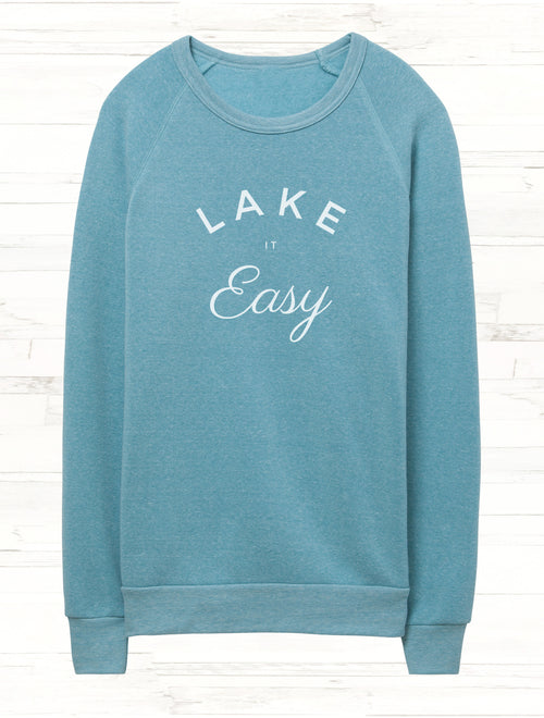 Lake it Easy Fleece Sweatshirt