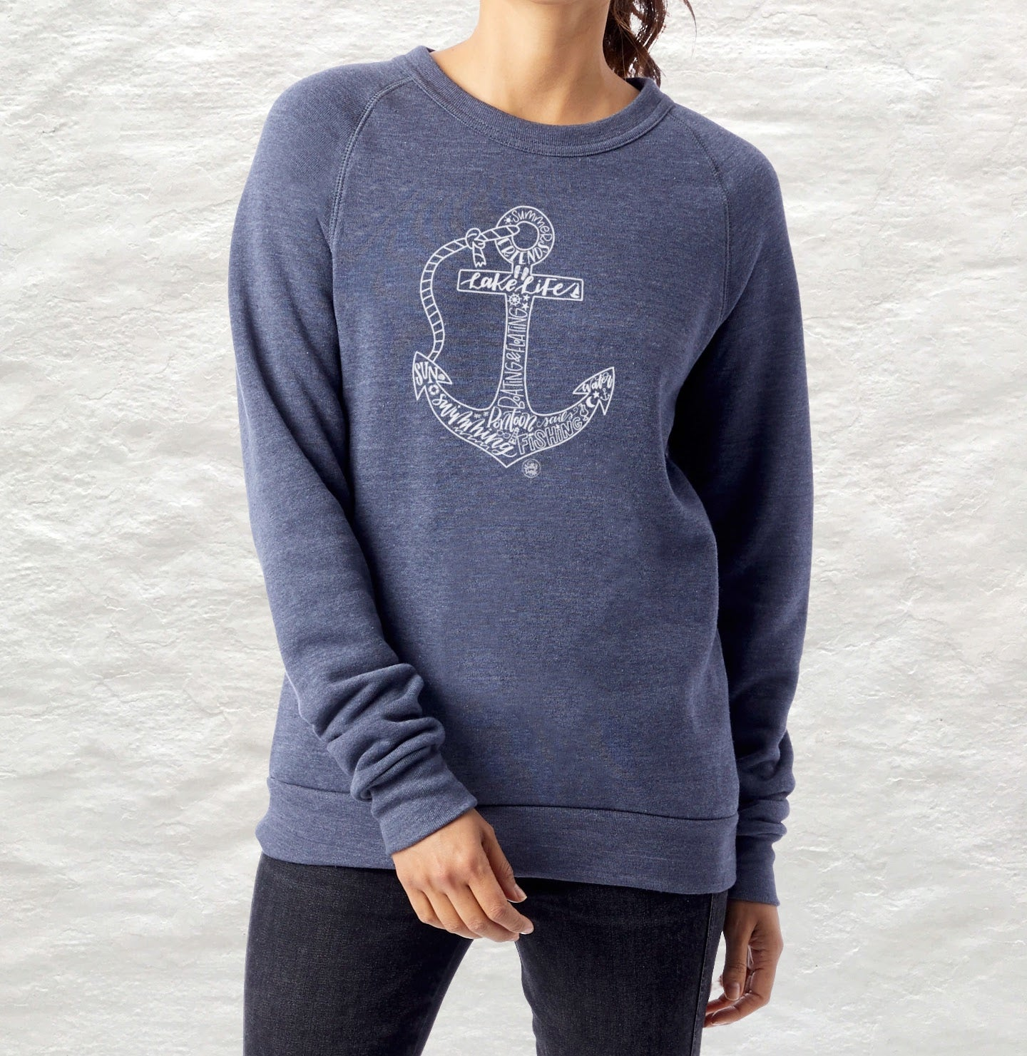 Lake Life Anchor Fleece Sweatshirt