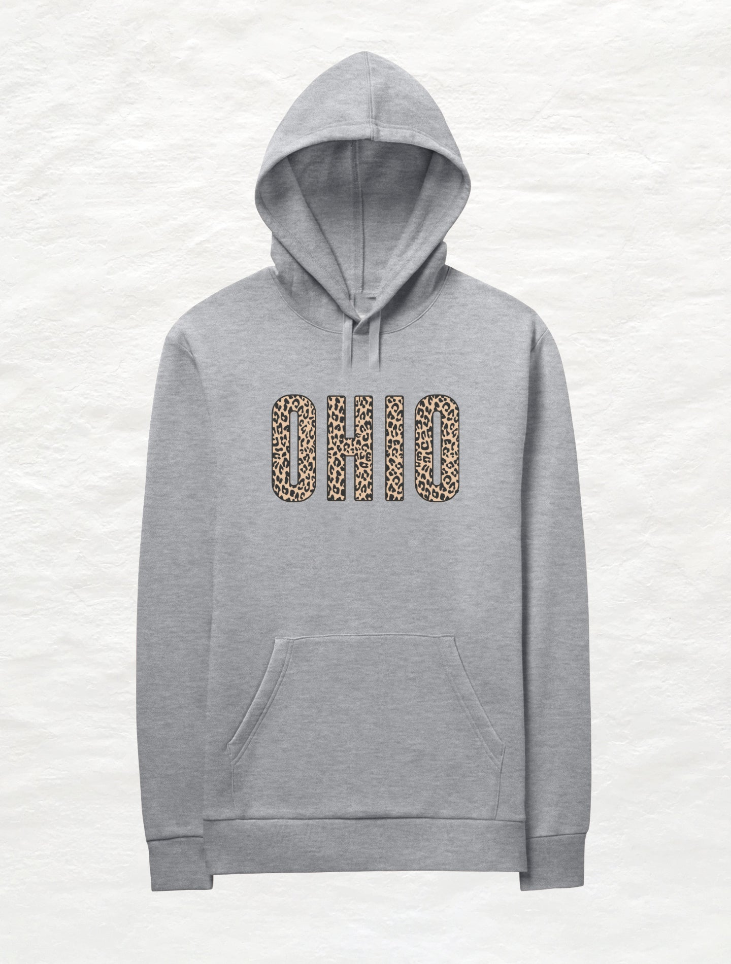 Animal Print Caps Ohio Fleece Hoodie