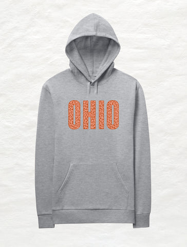 Buckeye Plaid Ohio Crossover Fleece Hoodie