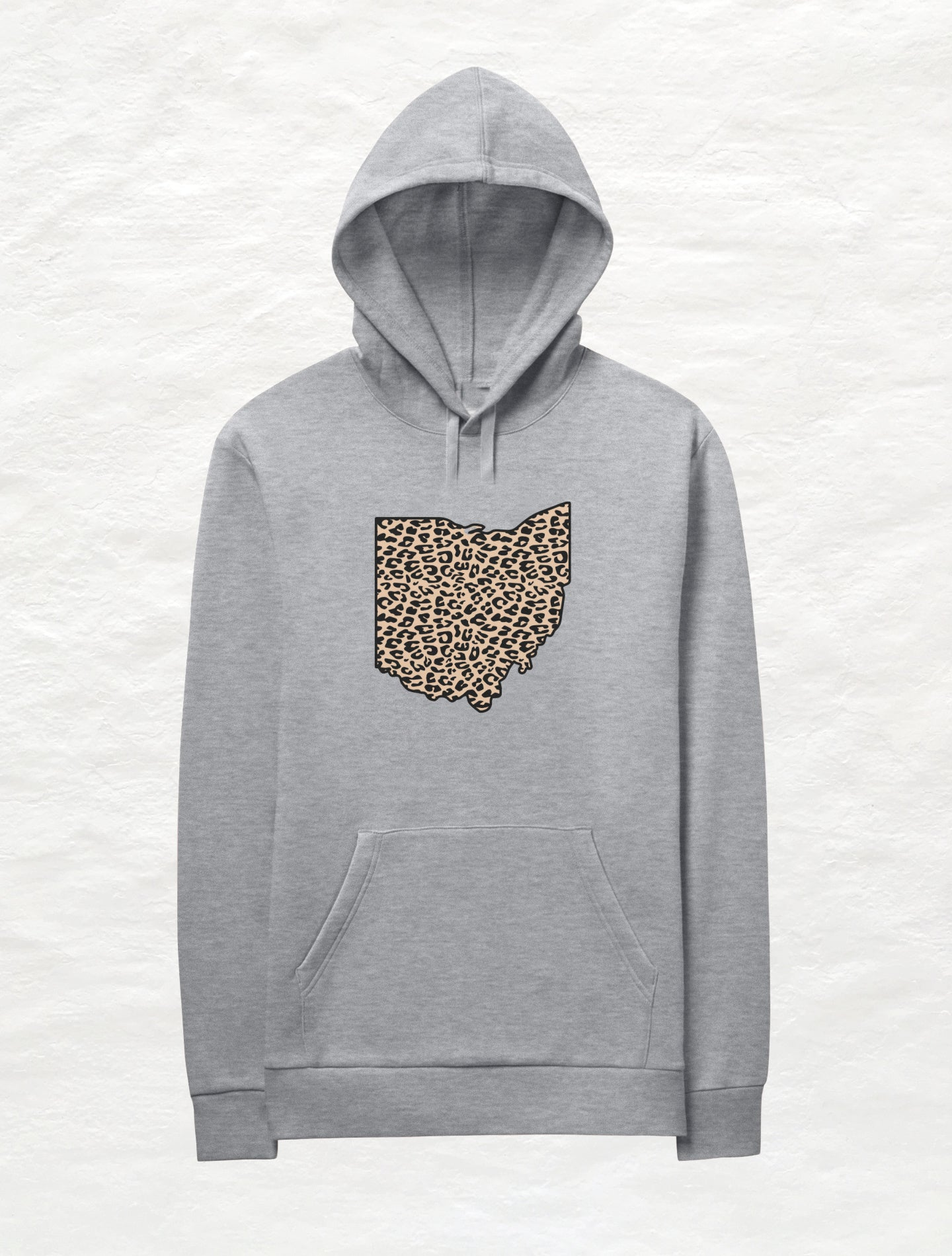 Animal Print Ohio Fleece Hoodie