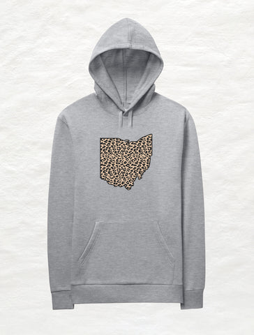 Heart Ohio Crew Fleece Sweatshirt