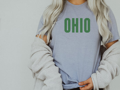 Buckeye Pattern Ohio Tee