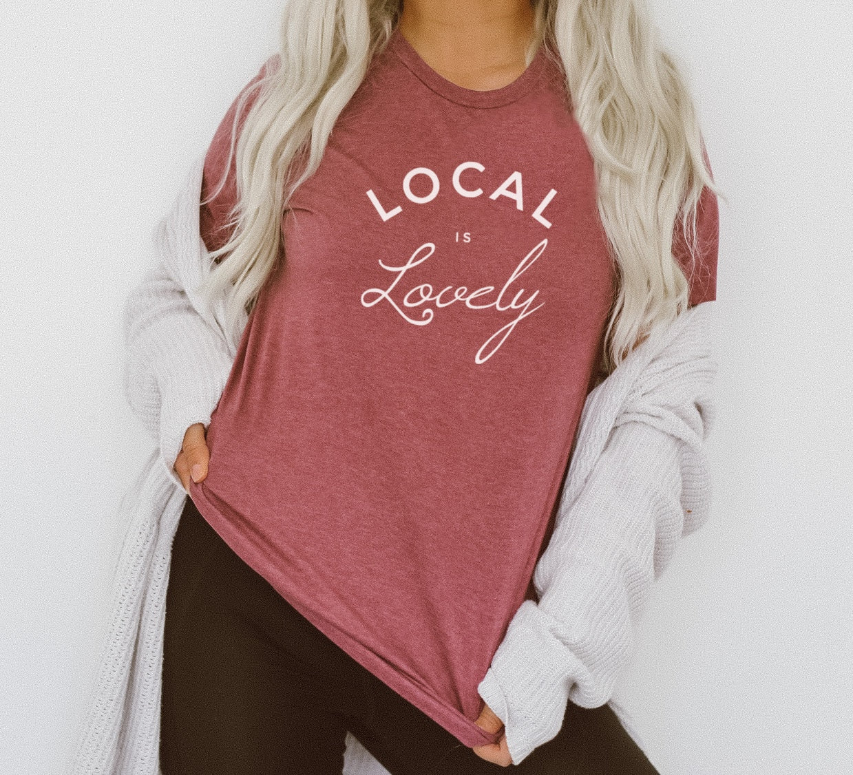 Local is Lovely Tee