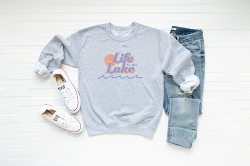 Life by the Lake Crew Fleece - Little Chicago Clothing Co.