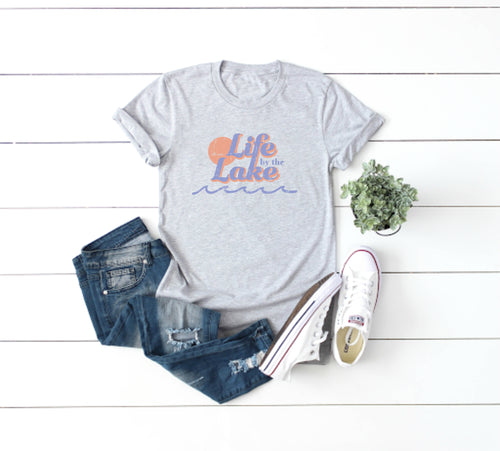 Life by the Lake Tee - Little Chicago Clothing Co.
